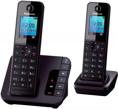 Беспроводной телефон Panasonic KX-TGH222RUB - общий вид