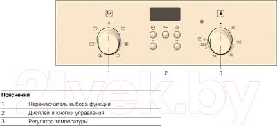 Электрический духовой шкаф Bosch HBN231S4