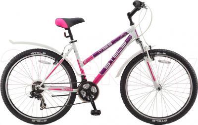 Велосипед Stels Miss 5000 (18, White-Pink) - общий вид