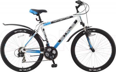 Велосипед Stels Navigator 600 (19, White) - общий вид