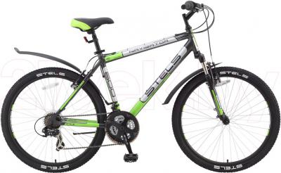 Велосипед Stels Navigator 600 (17, Gray) - общий вид