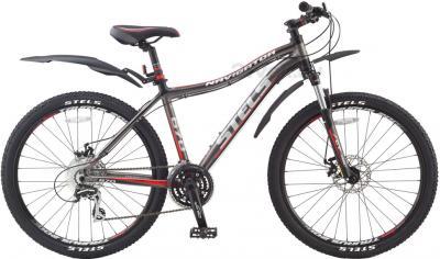 Велосипед Stels Navigator 670 Disc (17, Gray-Red) - общий вид