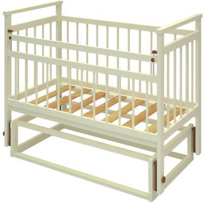 Детская кроватка Бэби Бум Ольга-1 (Слоновая кость) - общий вид