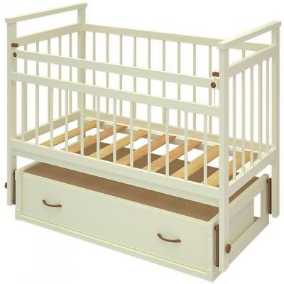 Детская кроватка Бэби Бум Ольга-2 (Слоновая кость) - общий вид