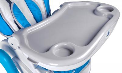 Стульчик для кормления Caretero Bistro (синий) - поднос