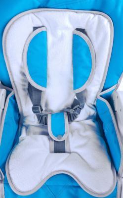 Стульчик для кормления Caretero Bistro (синий) - ремни