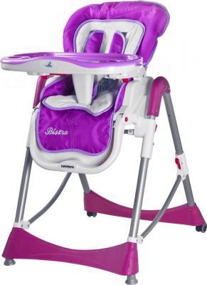 Стульчик для кормления Caretero Bistro (фиолетовый) - общий вид