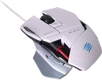 Мышь Mad Catz R.A.T. 3 Gaming Mouse (White) - общий вид