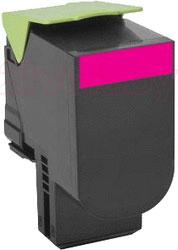 Тонер-картридж Lexmark 80x (80C2HME) - общий вид