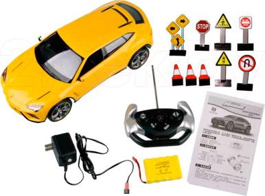 Радиоуправляемая игрушка Huan Qi Lamborghini Urus HQ636 - комплектация