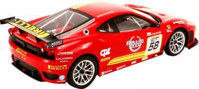 Радиоуправляемая игрушка MJX Ferrari F430 GT 8208В(ВО) - вид сзади