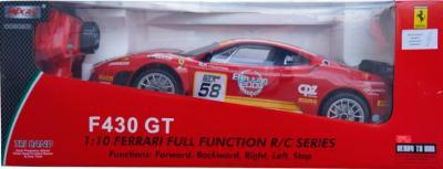 Радиоуправляемая игрушка MJX Ferrari F430 GT 8208В(ВО) - в упаковке