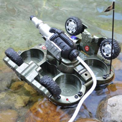 Радиоуправляемая игрушка YED Amphibious Tank (24883A) - общий вид