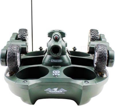 Радиоуправляемая игрушка YED Amphibious Tank (24883) - вид спереди