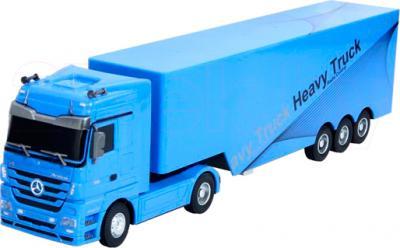 Радиоуправляемая игрушка Rui Chuang Mercedes-Benz Actros QY1101 (синий) - общий вид