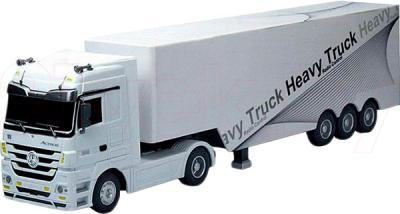 Радиоуправляемая игрушка Rui Chuang Mercedes-Benz Actros QY1101 (белый) - общий вид