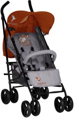 Детская прогулочная коляска Lorelli I-Move (Gray-Orange) - общий вид