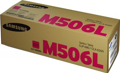 Тонер-картридж Samsung CLT-M506L - упаковка