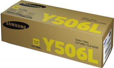 Тонер-картридж Samsung CLT-Y506L - упаковка