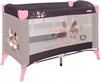Кровать-манеж Lorelli Arena 2 (Beige Bunnies) - общий вид