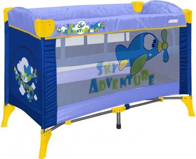 Кровать-манеж Lorelli Arena 2 (Blue Sky Adventure) - общий вид