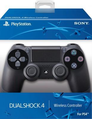 Геймпад Sony Dualshock 4 (Black) - коробка