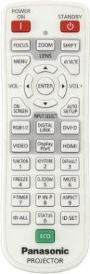 Проектор Panasonic PT-EZ580E - пульт ДУ
