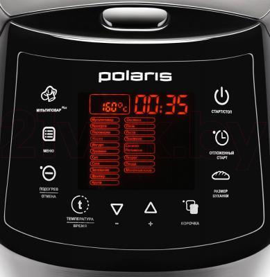 Мультиварка Polaris PBMM 1601D (Black) - панель управления