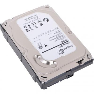 Гибридный жесткий диск Seagate Desktop SSHD 2TB (ST2000DX001) - общий вид