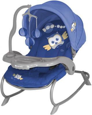 Детский шезлонг Lorelli Dream Time (Blue Baby Owl) - общий вид