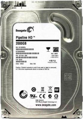 Жесткий диск Seagate Pipeline HD 2TB (ST2000VM003)