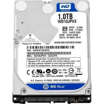 Жесткий диск Western Digital Blue 1TB (WD10JPVX) - общий вид