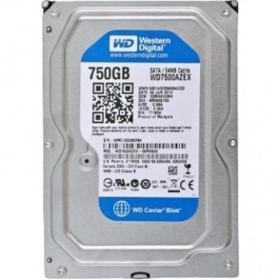 Жесткий диск Western Digital Caviar Blue 750GB (WD7500AZEX)