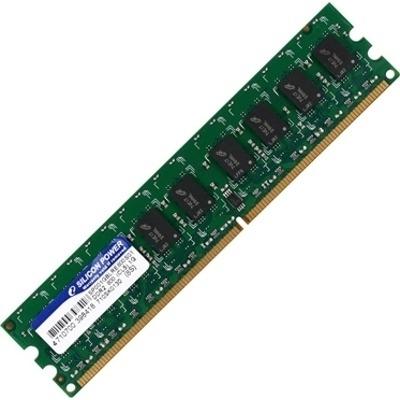 Оперативная память DDR2 Silicon Power 1GB DDR2 PC2-6400 (SP001GBLRU800O02) - общий вид