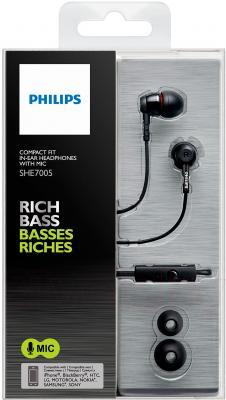 Наушники-гарнитура Philips SHE7005/00 - в упаковке