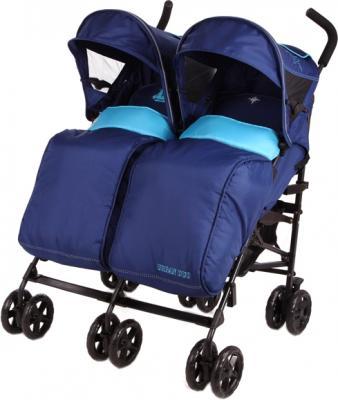 Детская прогулочная коляска Mobility One UrbanDuo A6670 (Blue-Turquoise) - общий вид