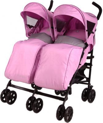 Детская прогулочная коляска Mobility One UrbanDuo A6670 (Purple-Gray) - общий вид