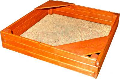 Песочница Росинка Кубик - общий вид