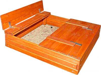 Песочница Росинка Ладошки (с крышкой) - общий вид