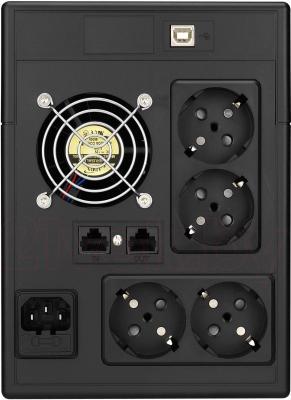 ИБП Powerex VI 1000 LED - вид сзади