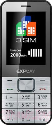 Мобильный телефон Explay Element (Silver) - общий вид