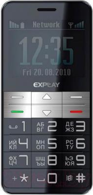 Мобильный телефон Explay BM55 (Black) - общий вид