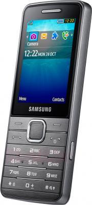 Мобильный телефон Samsung S5611 (серебристый) - вполоборота