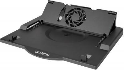 Подставка для ноутбука Canyon CNR-NS01 (Black) - общий вид