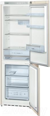 Холодильник с морозильником Bosch KGV36VK23R - в открытом виде