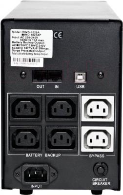 ИБП Powercom Imperial IMP-1500AP 1500VA - вид сзади