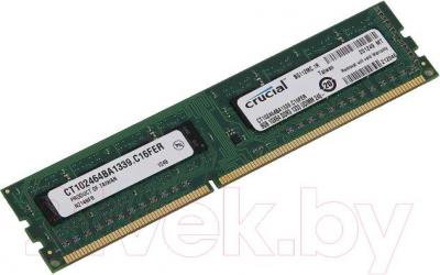 Оперативная память DDR3 Crucial 8GB DDR3 PC3-10600 (CT102464BA1339) - общий вид