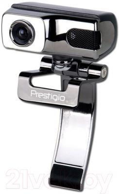 Веб-камера Prestigio PWC413A (Gun metal-Silver) - Prestigio PWC413A