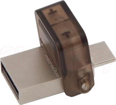 Usb flash накопитель Kingston DataTraveler microDuo 16GB (DTDUO/16GB) - общий вид