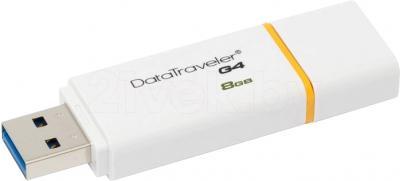 Usb flash накопитель Kingston DataTraveler G4 8GB Yellow (DTIG4/8GB) - общий вид